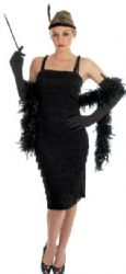 Roaring 20's Girl - Black (2400)